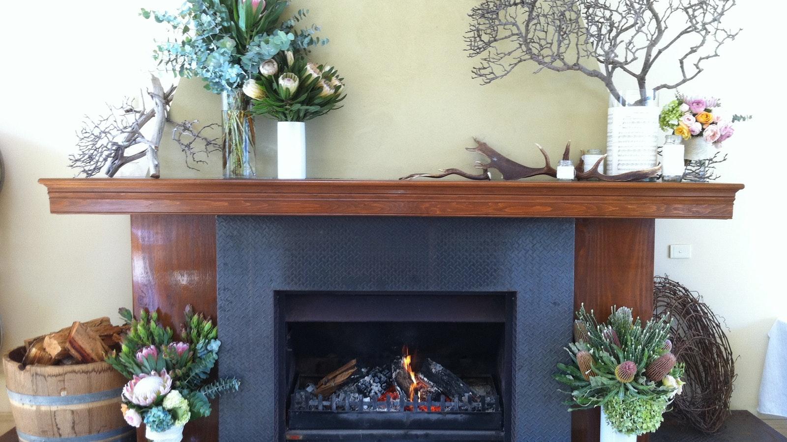 Sutherland Estate fireplace