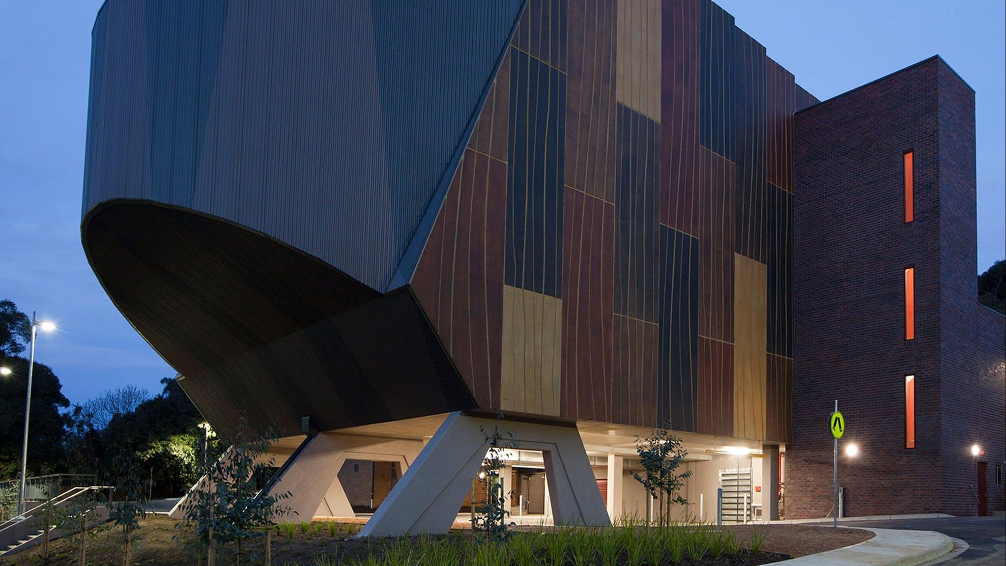 Burrinja Building exterior