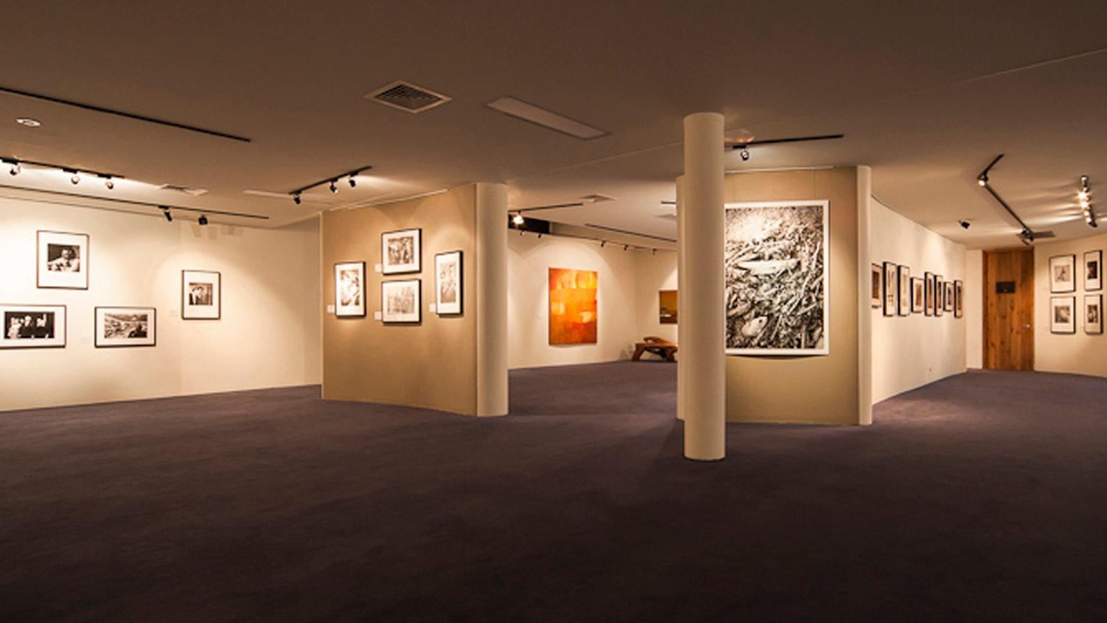 Burrinja gallery interior