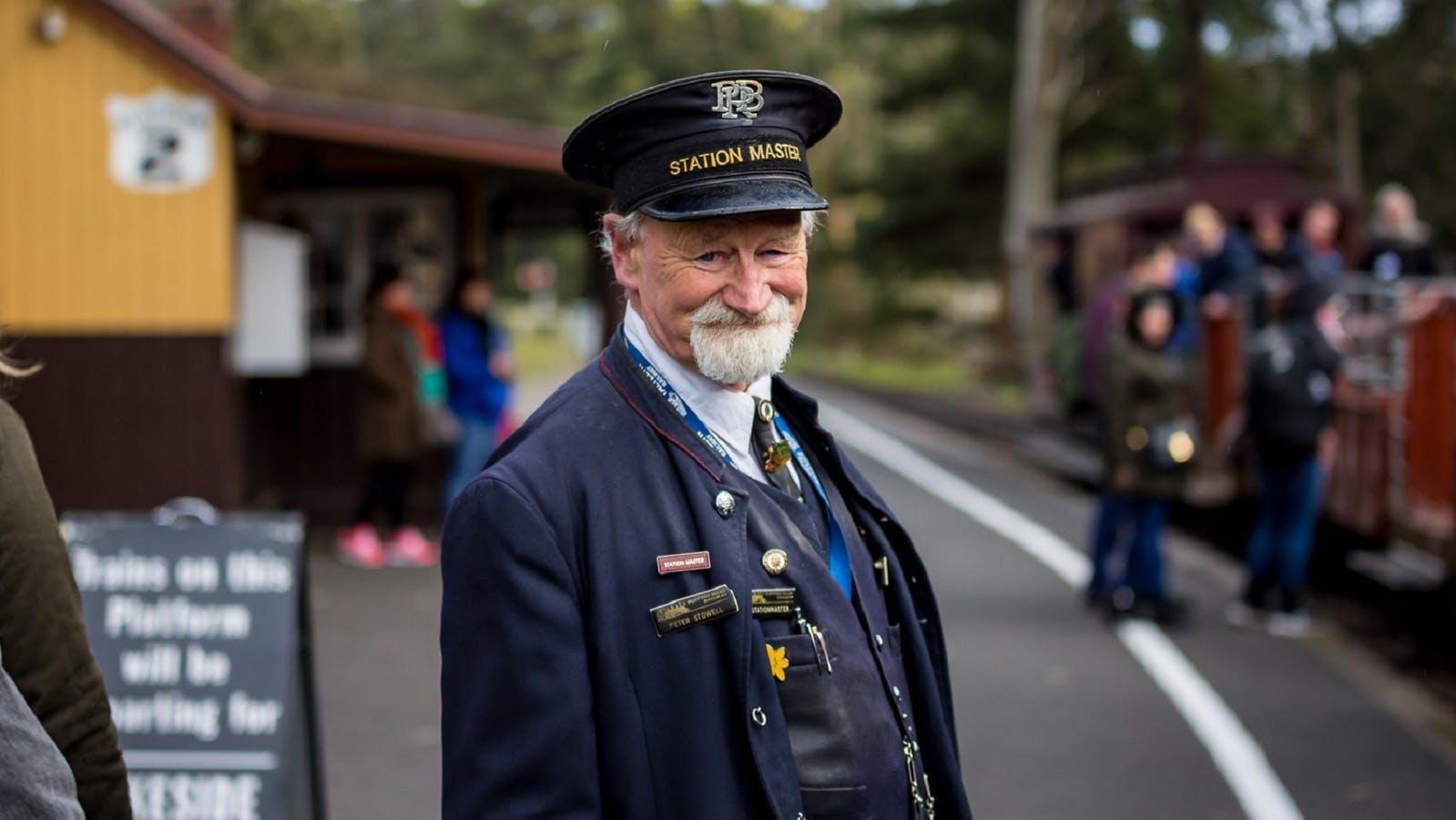 Station Master at Menzies Creek Station