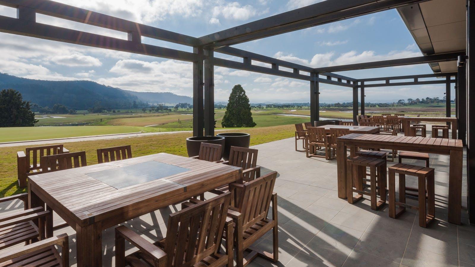 The Eastern Golf Club Terrace