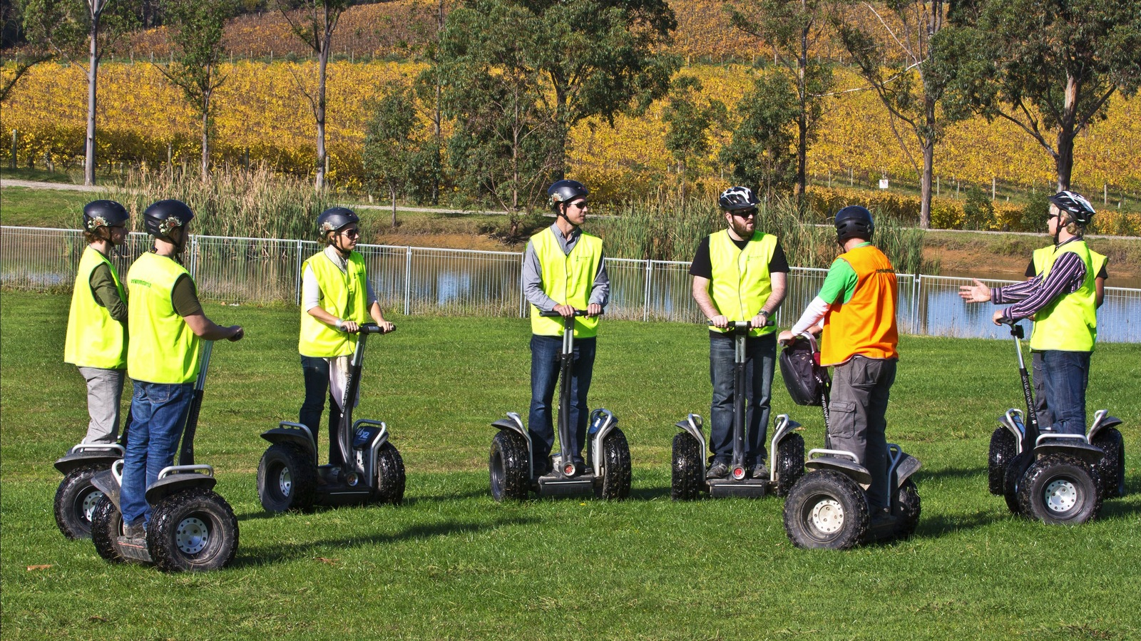 Segway tour Rochford Wines
