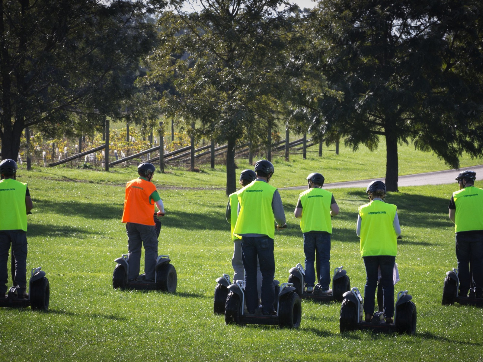 Segway tour Yarra Valley