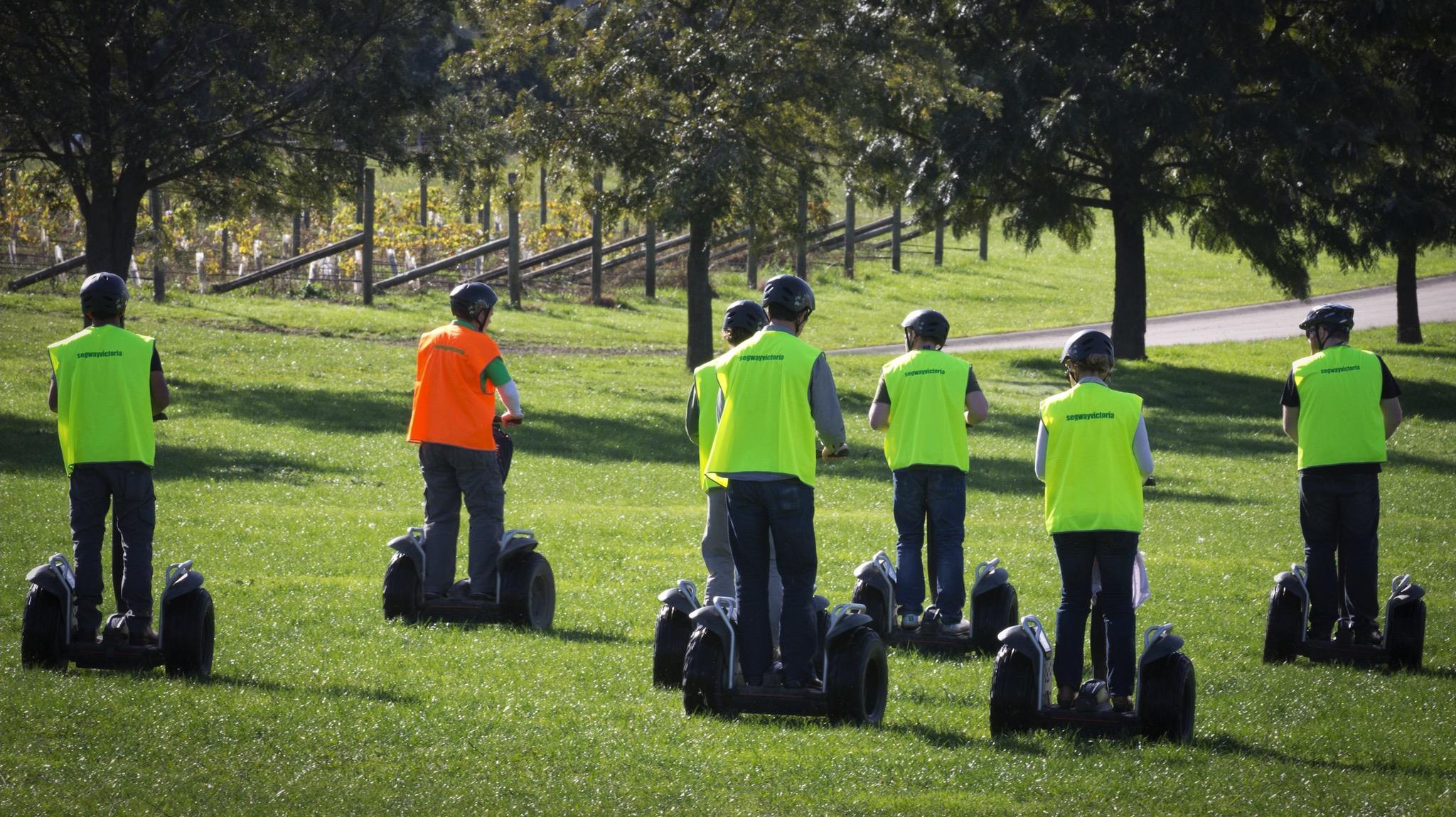 Segway tour Yarra Valley