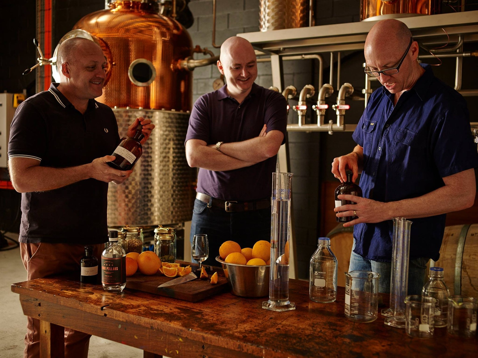 Tasting the Gin at Four Pillars