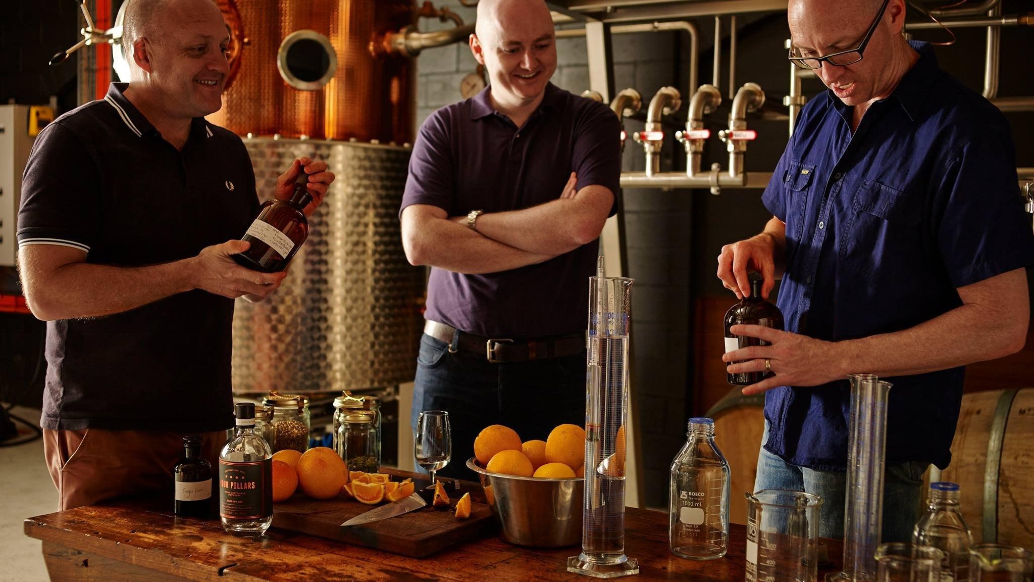 Tasting the Gin at Four Pillars