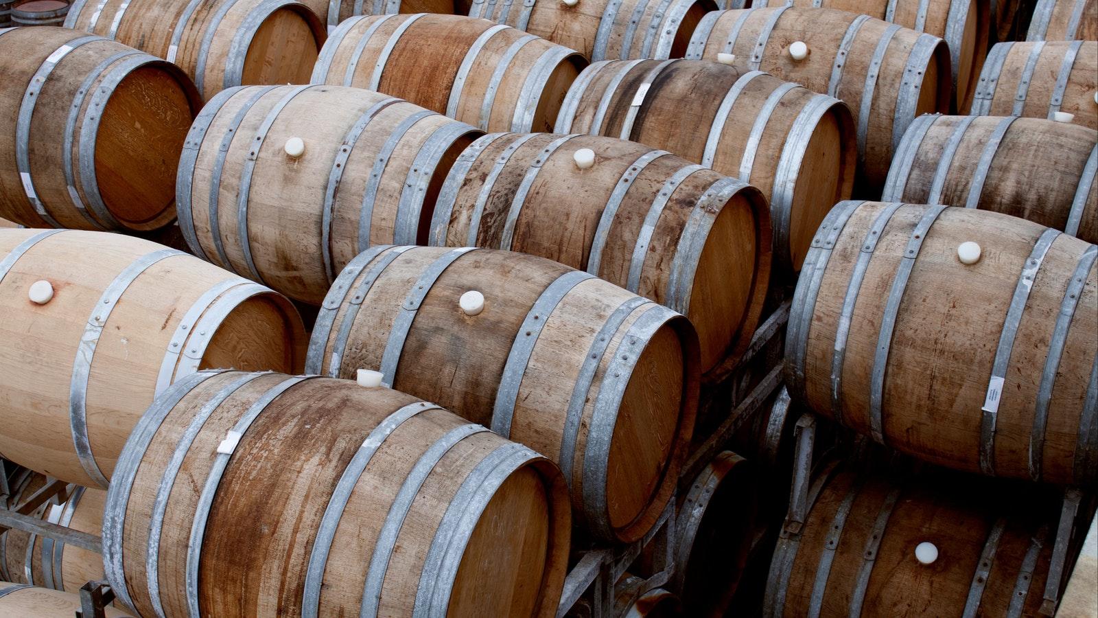 Wine Barrels Yering Station
