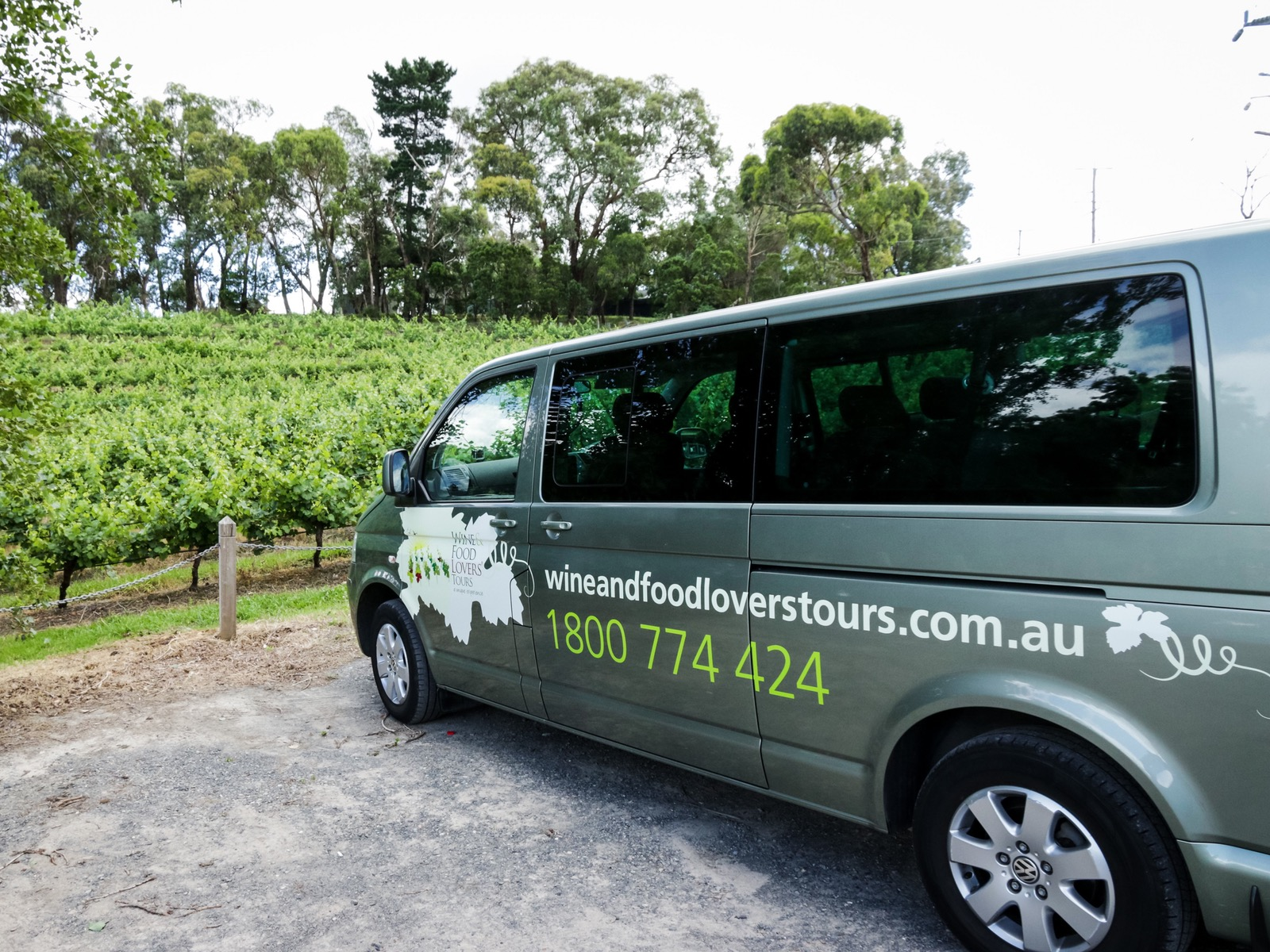 Fabulous Wine and Food Lovers' Tours vehicles
