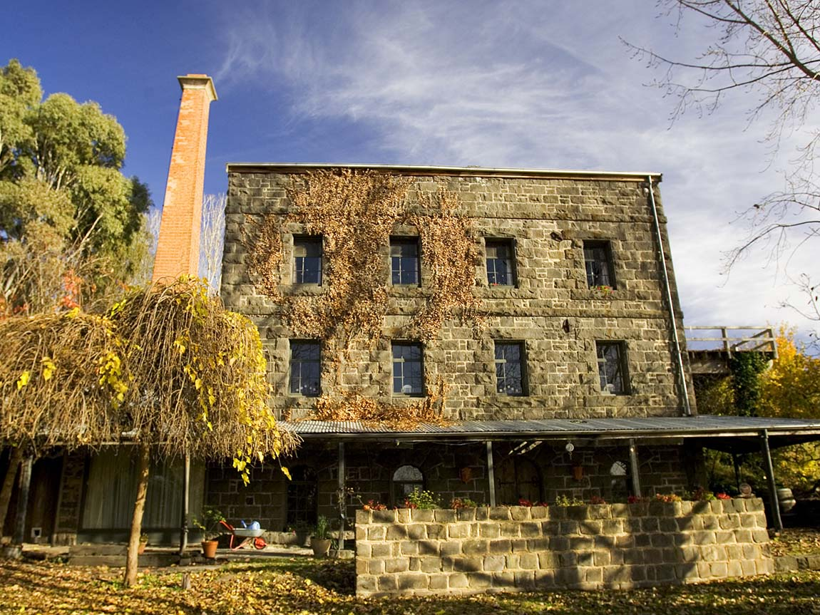 Old Malmsbury mill, Daylesford and the Macedon Ranges, Victoria, Australia