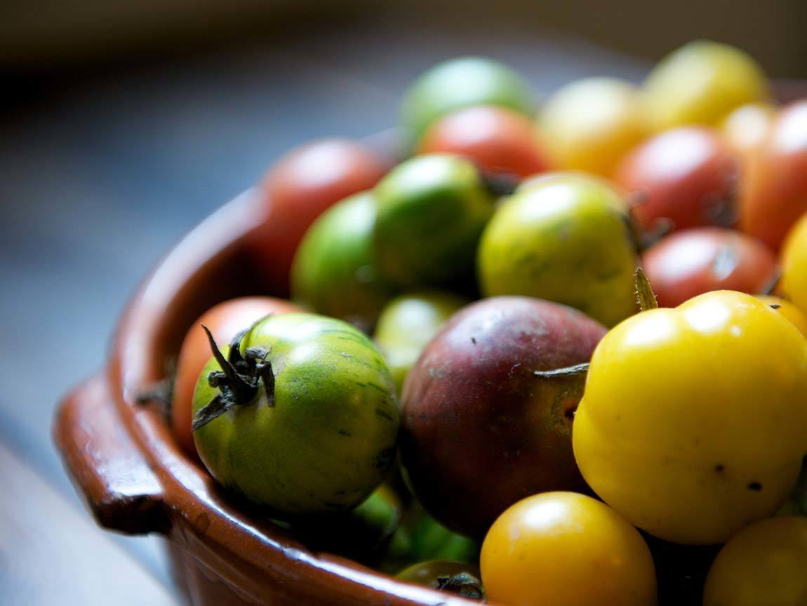 Heirloom tomatoes - Daylesford, Daylesford and the Macedon Ranges, Victoria, Australia