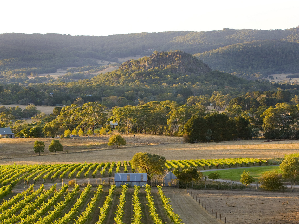 Hanging Rock Winery, Newham, Daylesford and the Macedon Ranges, Victoria, Australia