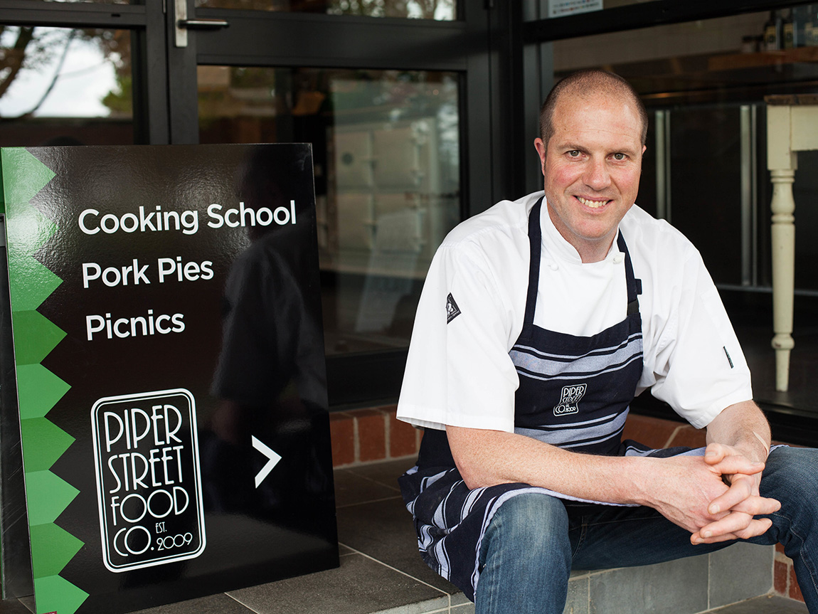 Damian Sandercock, Piper Street Food Co, Kyneton, Daylesford and the Macedon Ranges, Victoria, Australia