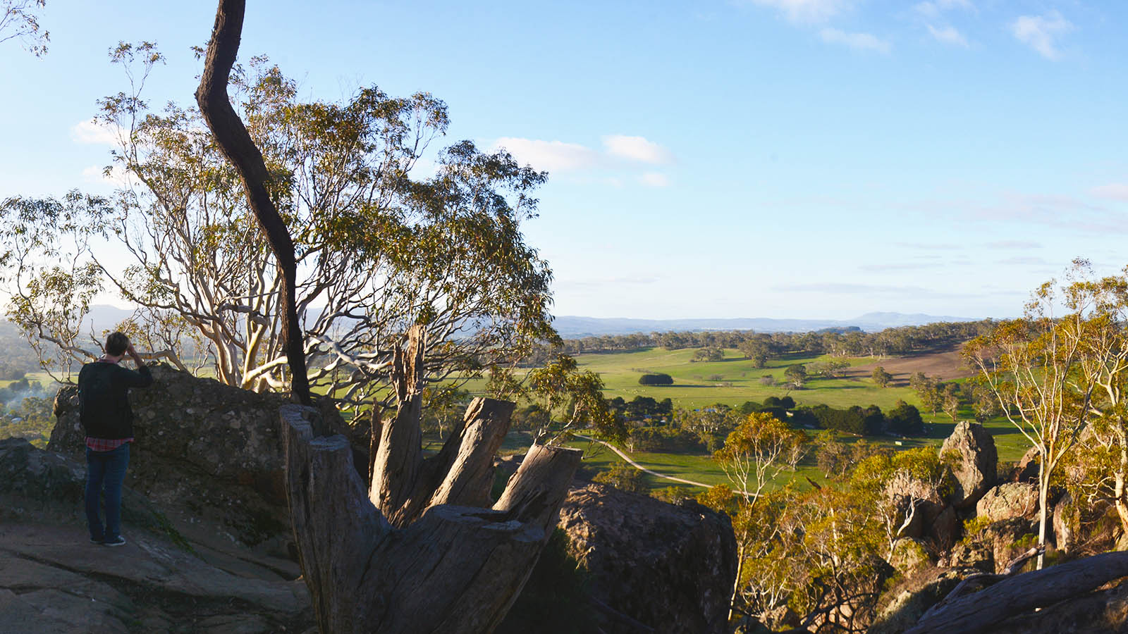 Hanging Rock Trail, Daylesford and the Macedon Ranges, Victoria, Australia