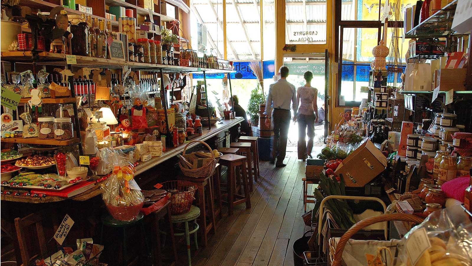 Shopping, Daylesford and the Macedon Ranges, Victoria, Australia