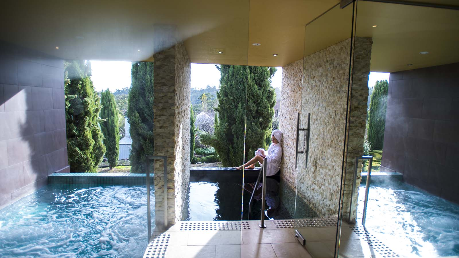 The Mineral Spa, Hepburn Springs, Daylesford and the Macedon Ranges, Victoria, Australia