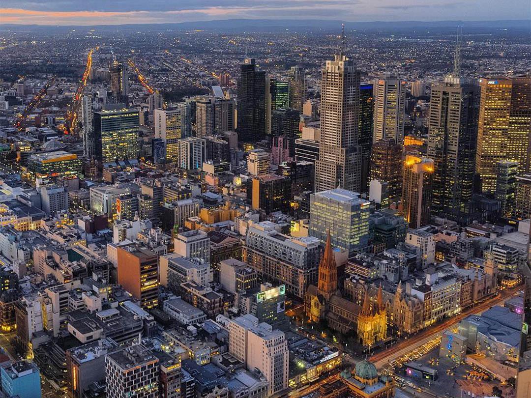 Eureka Tower, Melbourne, Victoria, Australia. Credit: Seekwithdave