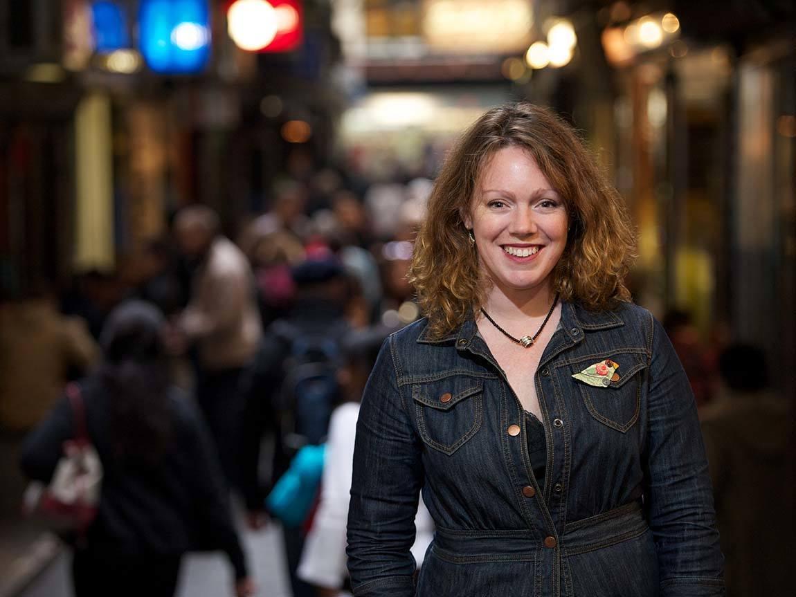 Fiona Sweetman, Hidden Secrets Tours, Melbourne, Victoria, Australia. Photo: Matt Irwin
