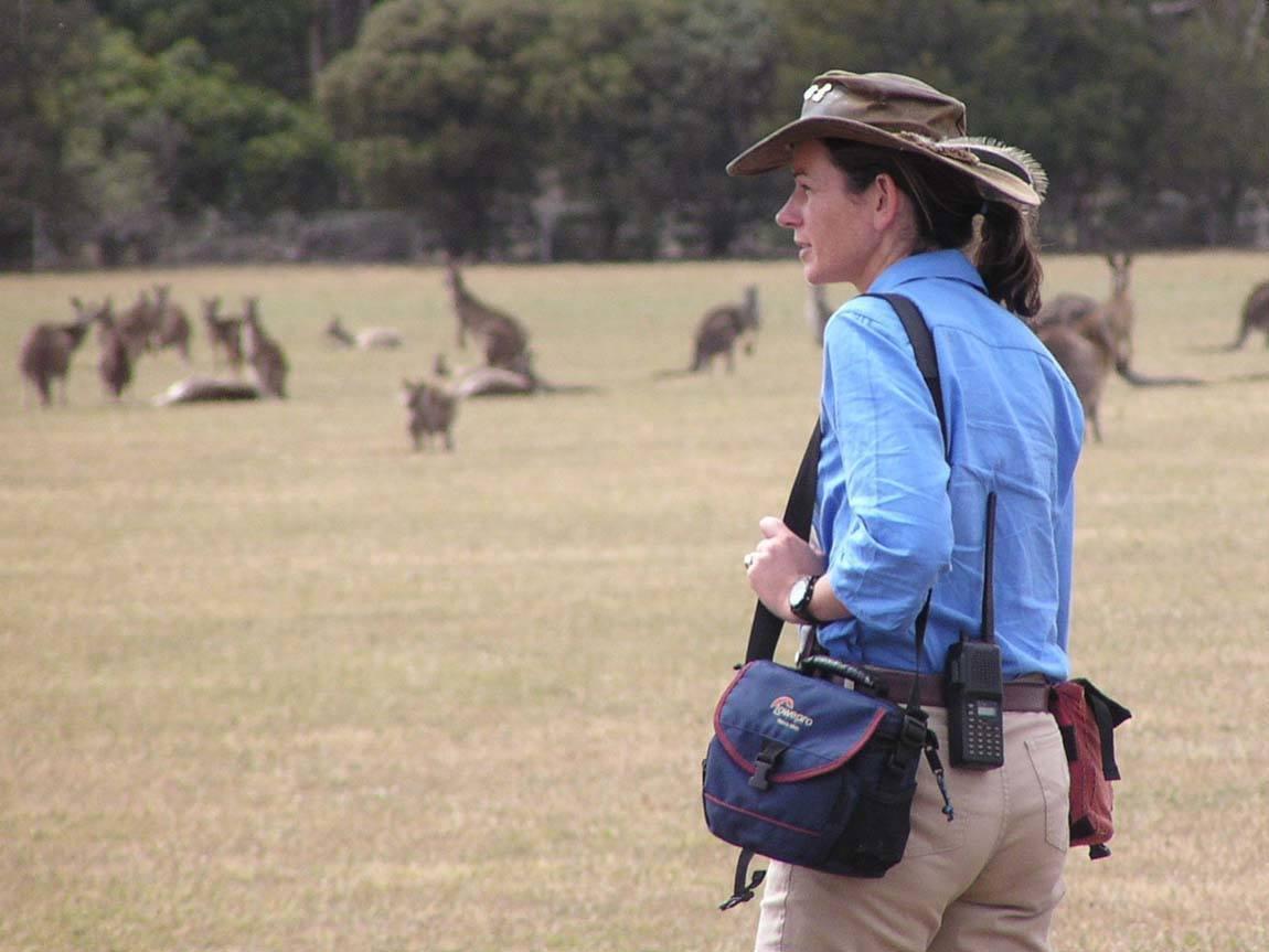 Janine Duffy, Echidna Walkabout Tours, Victoria, Australia