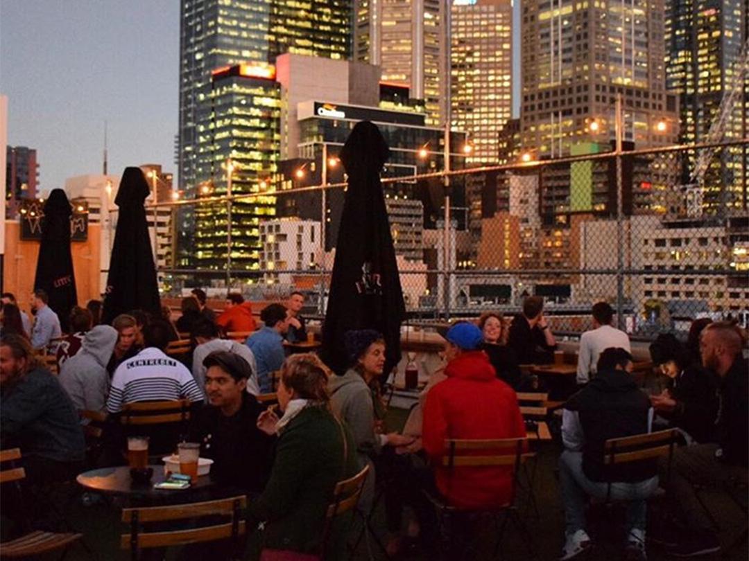 Rooftop Bar, Melbourne, Victoria, Australia