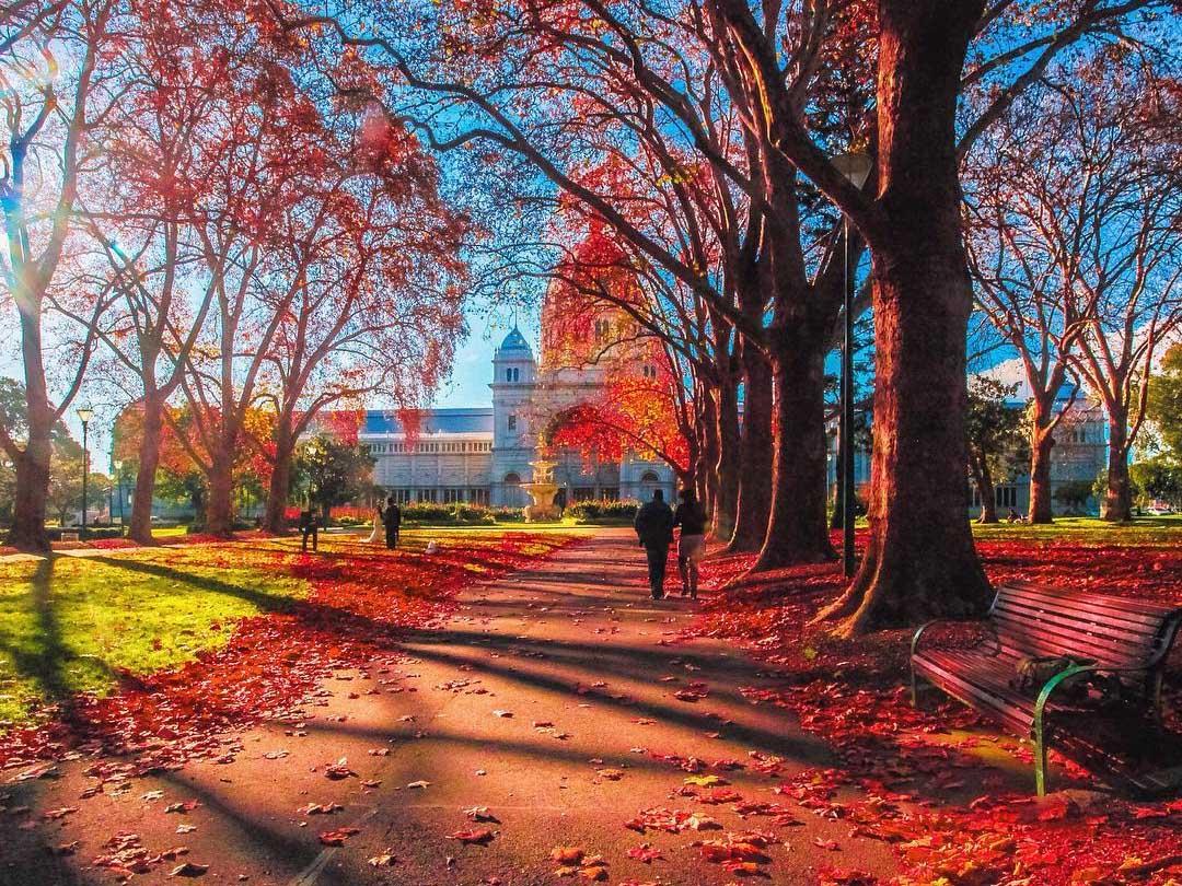 Royal Exhibition Building, Melbourne, Victoria, Australia. Credit: RayofMelbourne