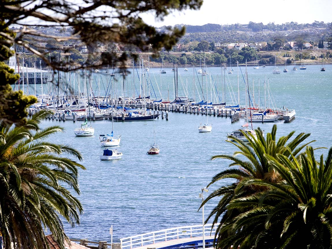 Geelong waterfront, Geelong and the Bellarine, Victoria, Australia