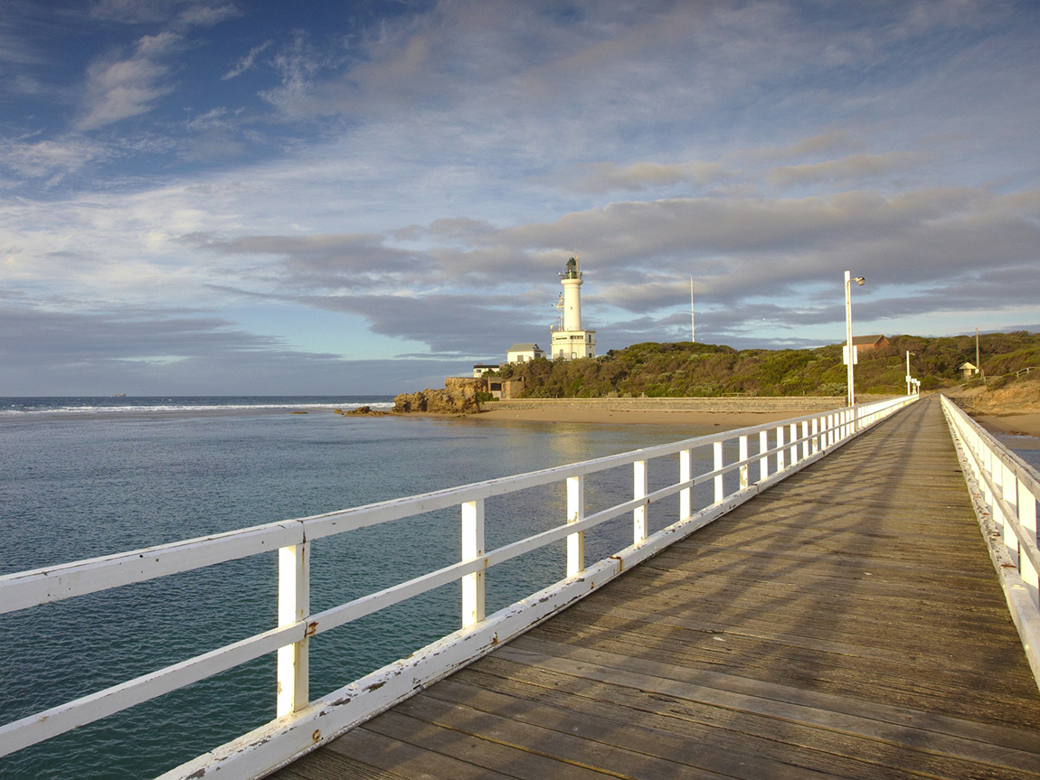 Point Lonsdale Lighthouse, Geelong and the Bellarine, Victoria, Australia
