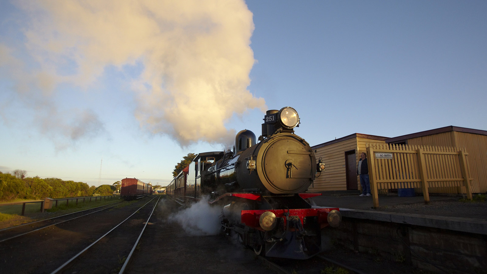 The Blues Train, Geelong and the Bellarine, Victoria, Australia