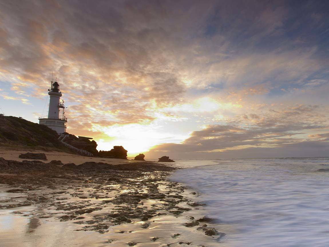 Point Lonsdale Lighthouse, Great Ocean Road, Victoria, Australia