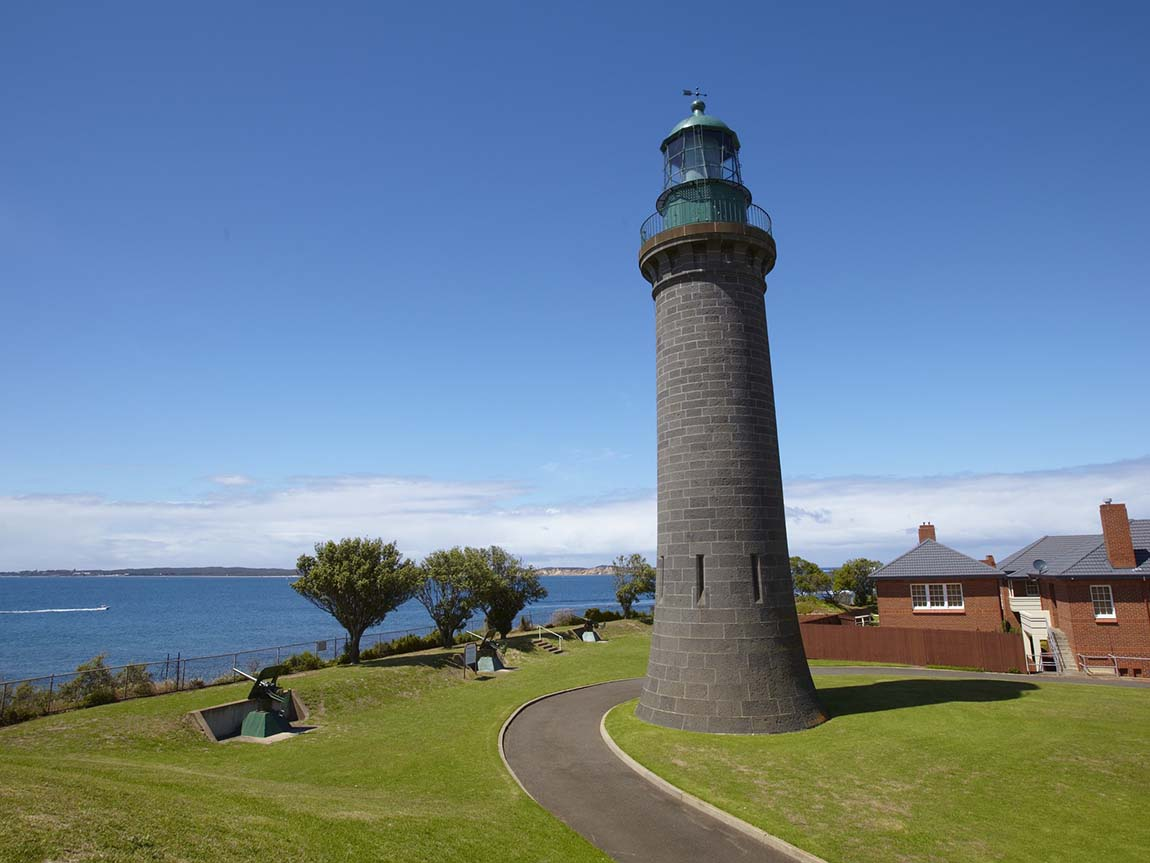 Queenscliff Fort, Geelong and the Bellarine, Victoria, Australia
