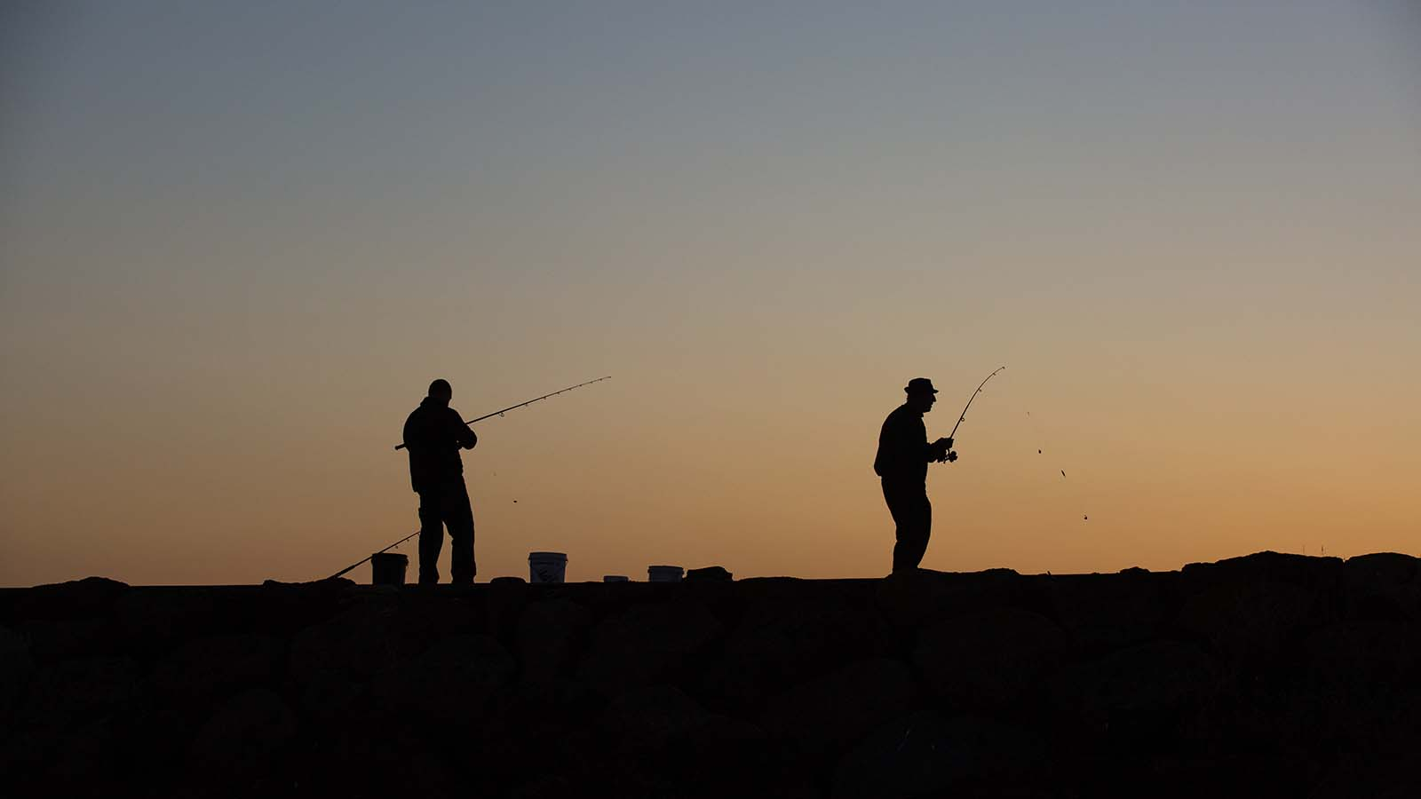 Fishing at Geelong, Geelong and the Bellarine, Victoria Australia