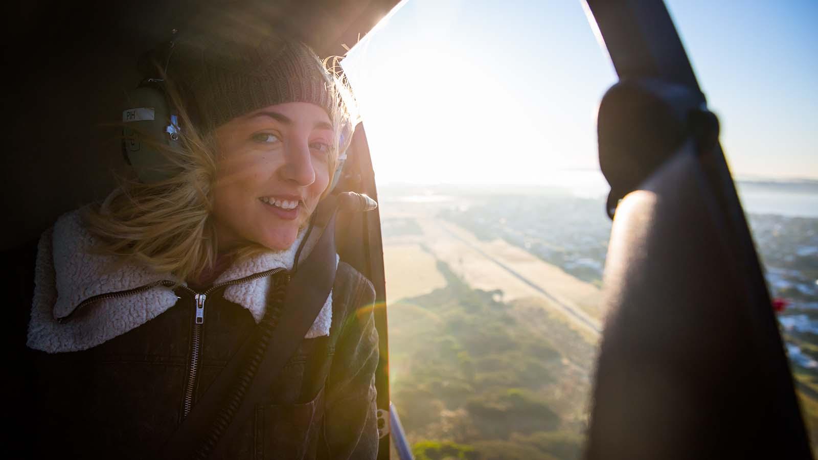 Scenic flight, Geelong and the Bellarine, Victoria, Australia