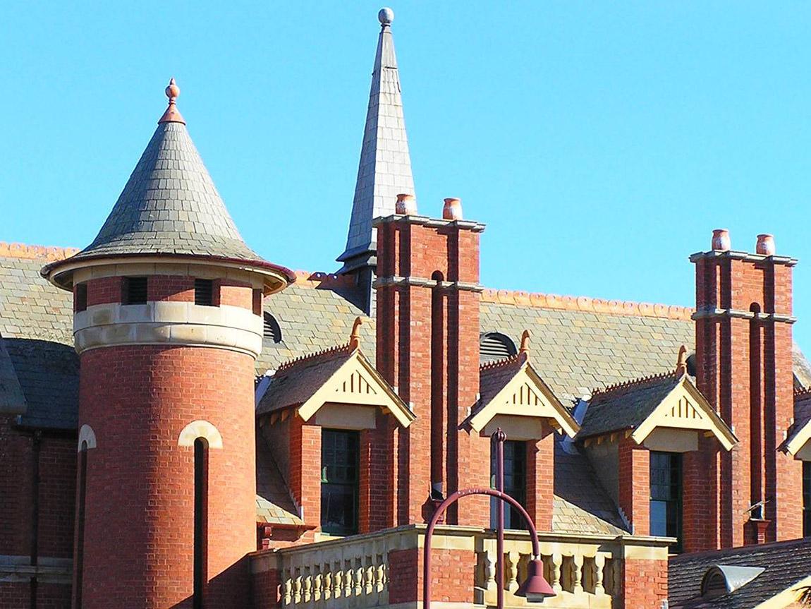 Bairnsdale Court House, Gippsland, Victoria, Australia