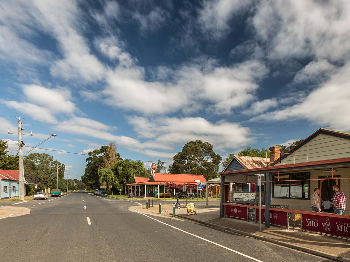 Briagolong streetscape, Gippsland, Victoria, Australia