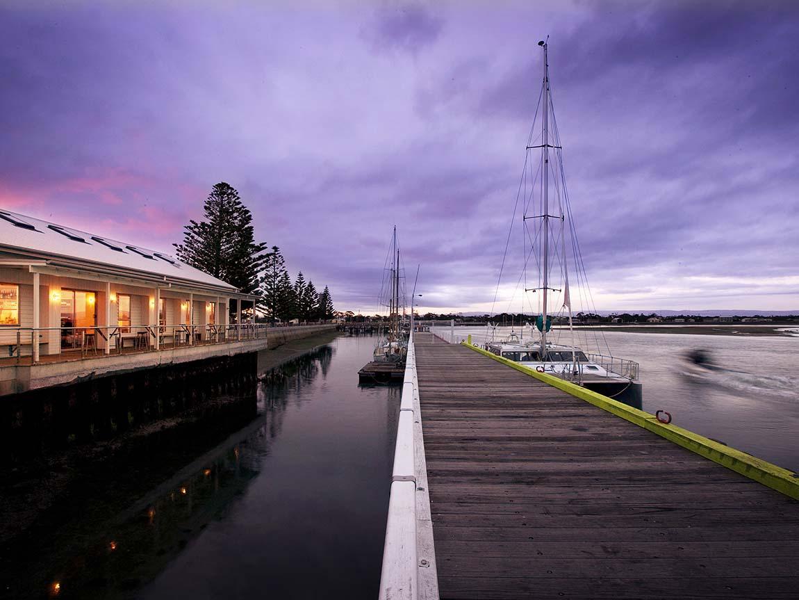 Port Albert, Gippsland, Victoria, Australia. Image: Peter Glenane