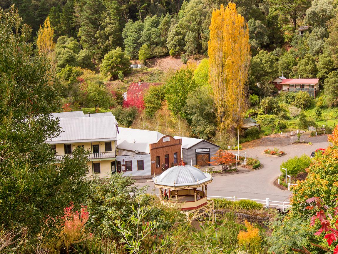 Walhalla, Gippsland, Victoria, Australia. Image: D. Hannah