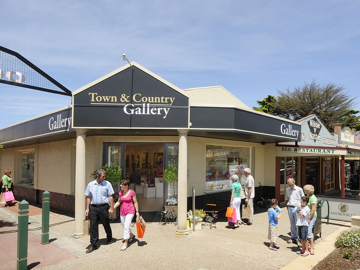 Yarragon Country Gallery, Gippsland, Victoria, Australia
