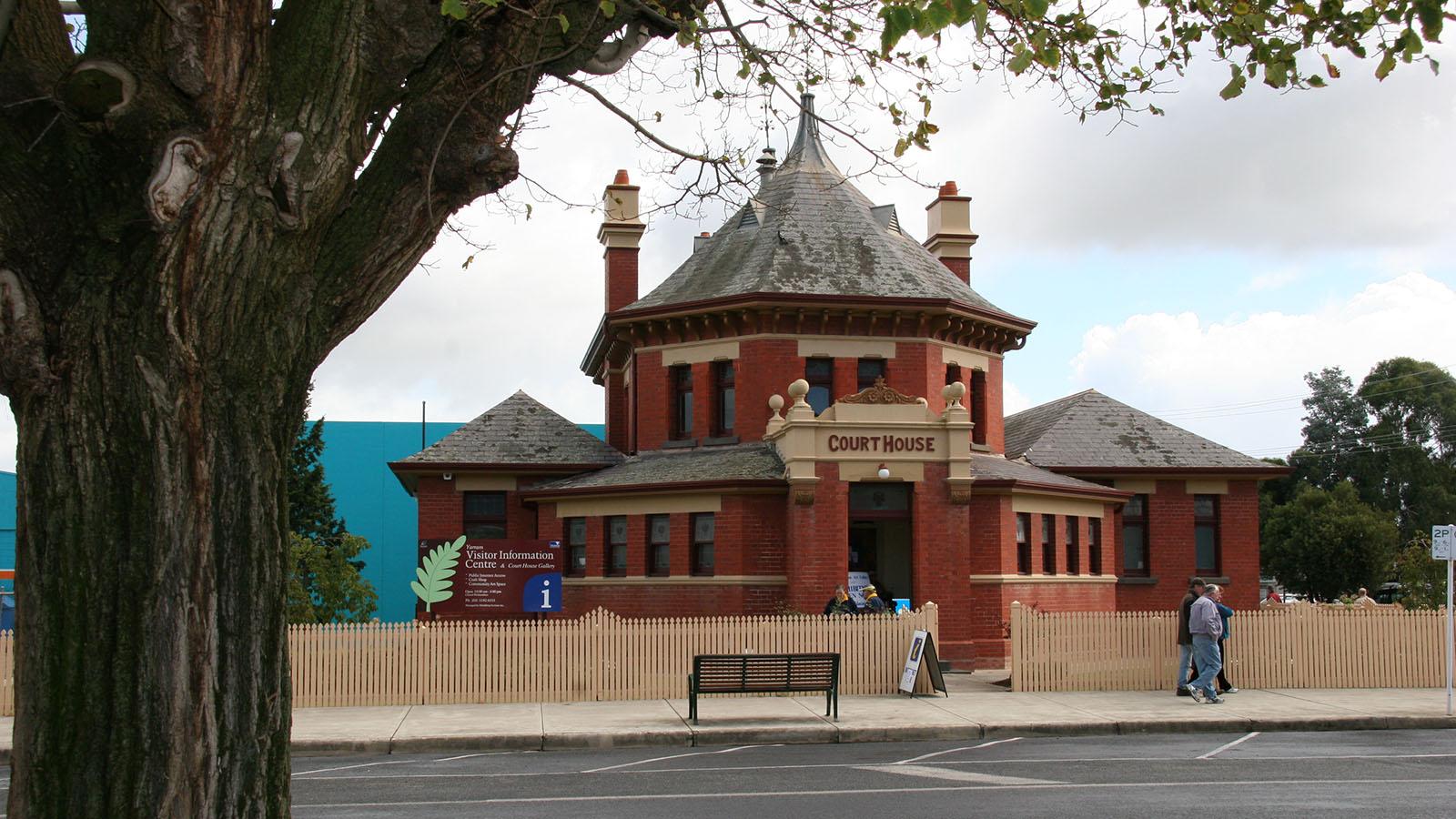 Yarram Courthouse, Gippsland, Victoria, Australia