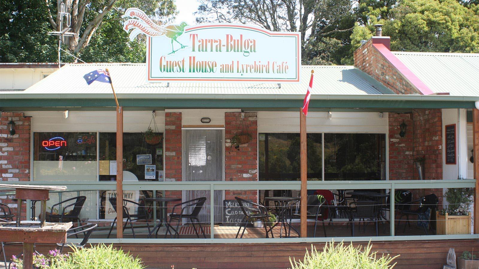 Lyrebird Cafe, Gippsland, Victoria, Australia