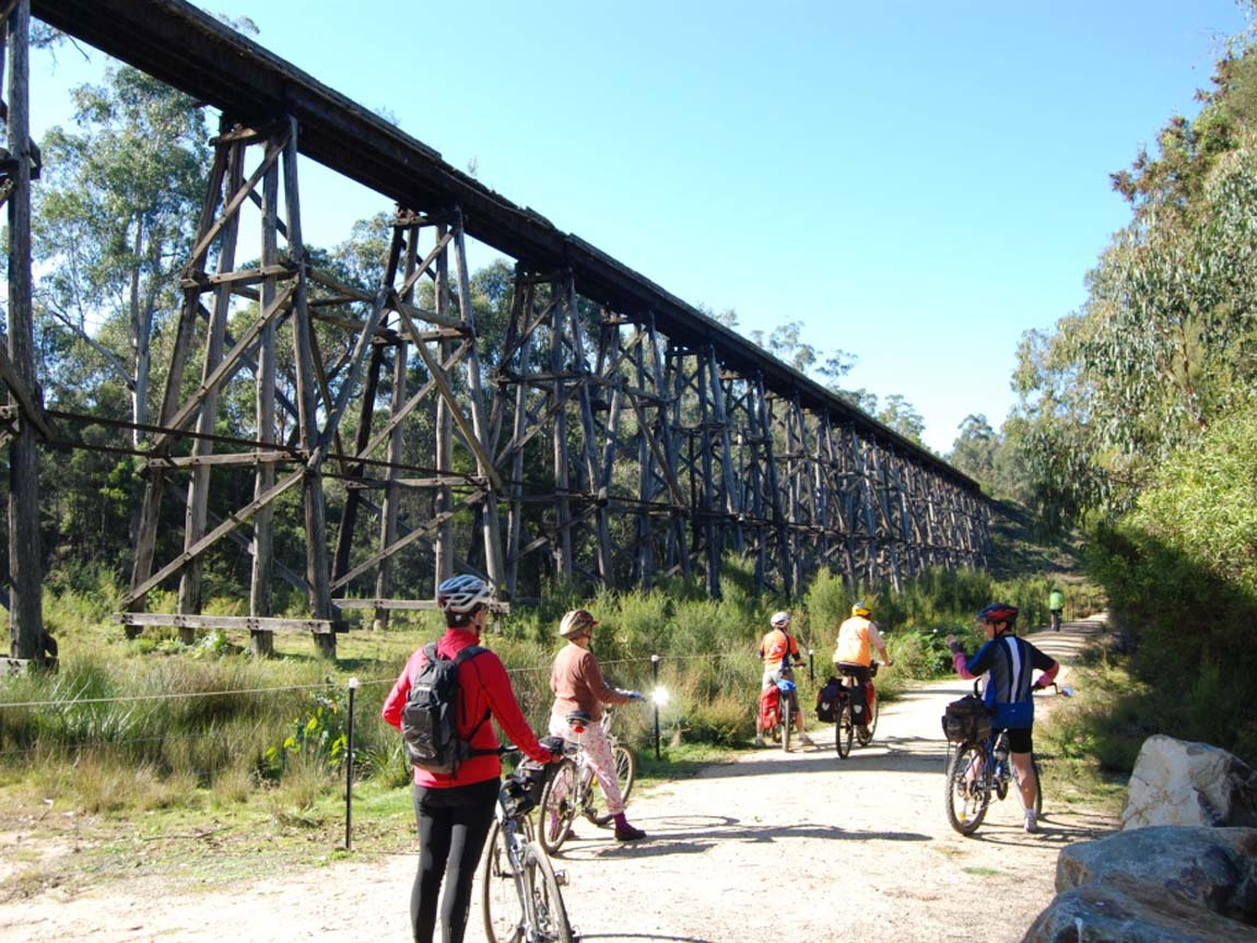 Snowy River Cycling, Gippsland, Victoria, Australia