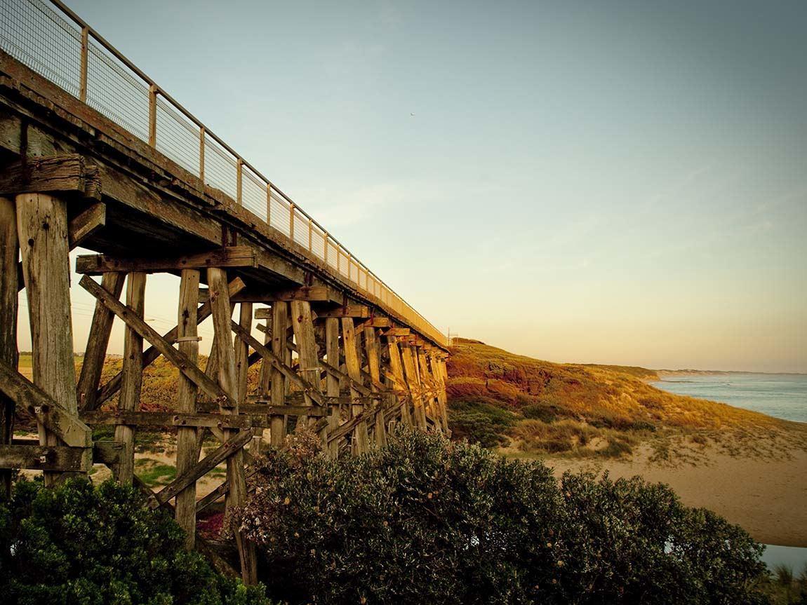 Kilcunda Bridge, Kilcunda, Gippsland, Victoria, Australia