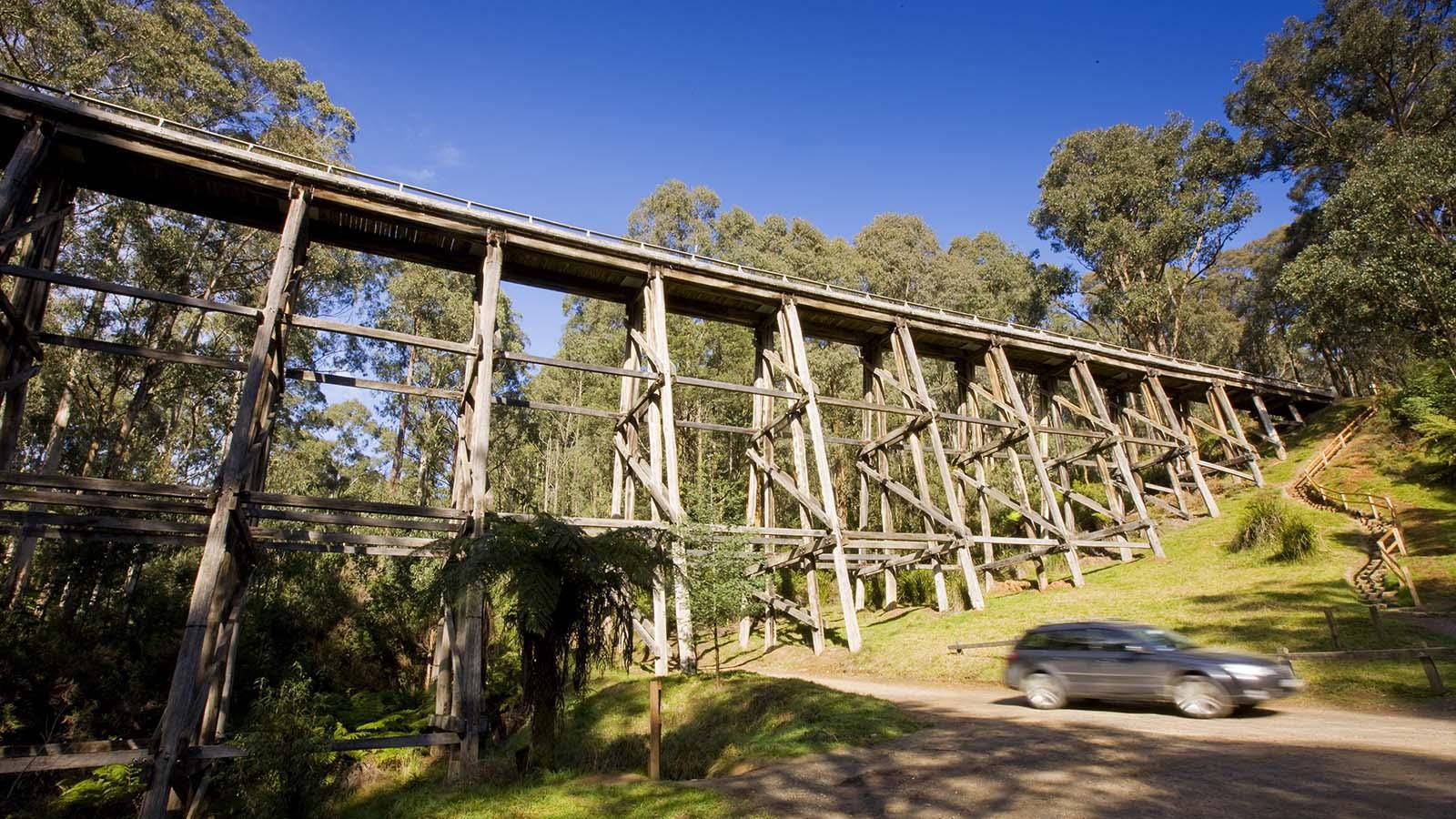 Noojee Trestle Bridge, Gippsland, Victoria, Australia