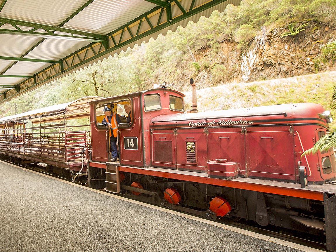 Walhalla Goldfields Railway, Gippsland, Victoria, Australia