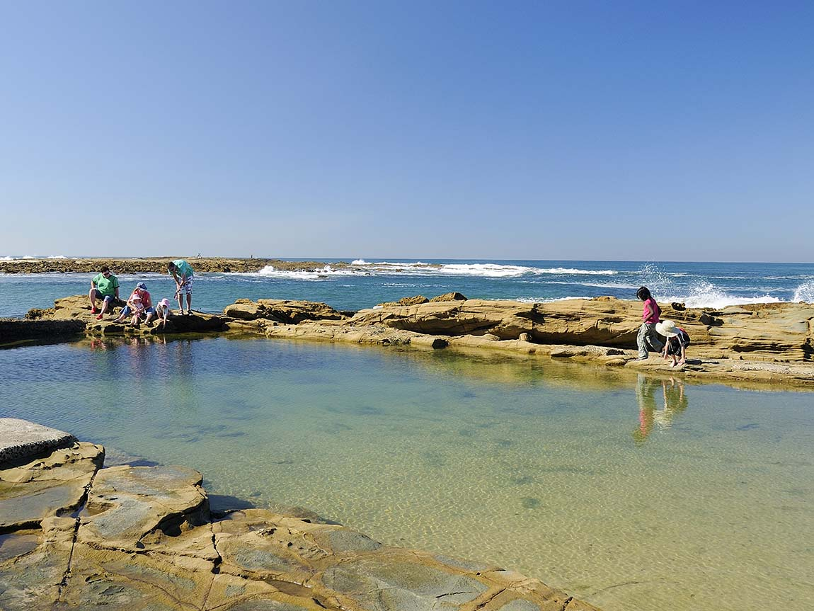 Rock pools at Cape Paterson, Gippsland, Victoria, Australia