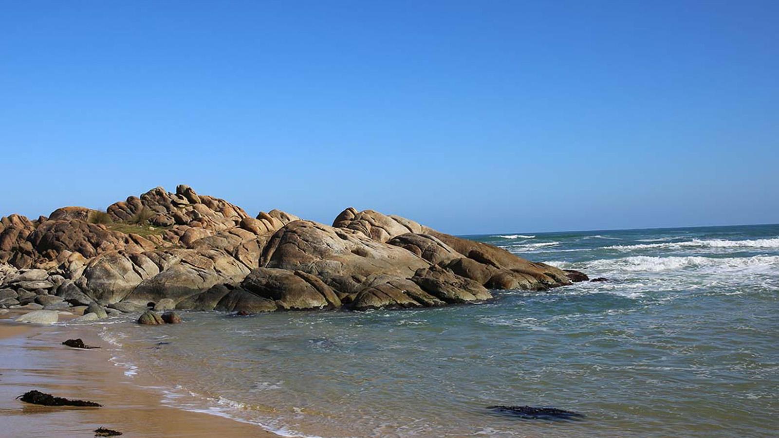 Rocks at Cape Conran, Gippsland, Victoria, Australia