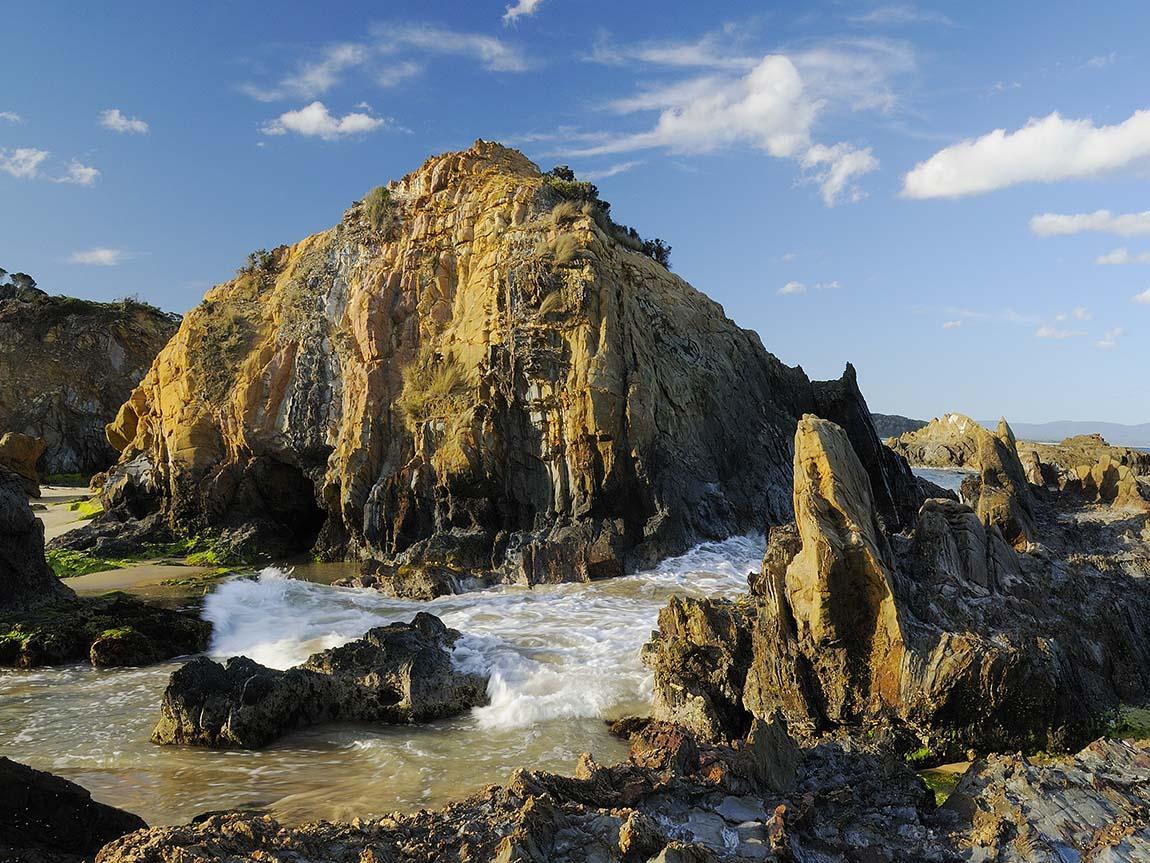 Secret Beach, Mallacoota, Gippsland, Victoria, Australia