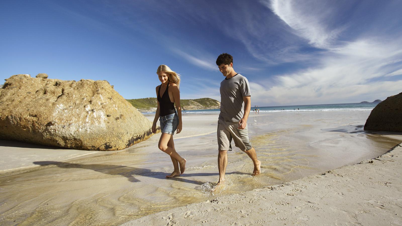 Squeaky Beach, Wilsons Promontory, Gippsland Victoria, Australia
