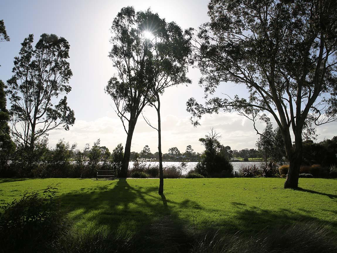 Lake Guyatt, Sale, Gippsland, Victoria, Australia