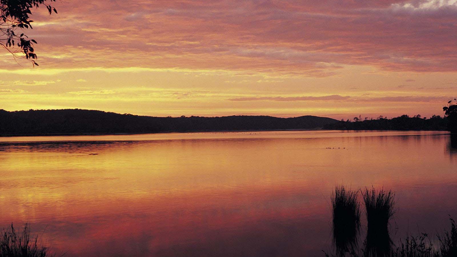 Wingan Inlet in Croajingolong National Park, Gippsland, Victoria, Australia