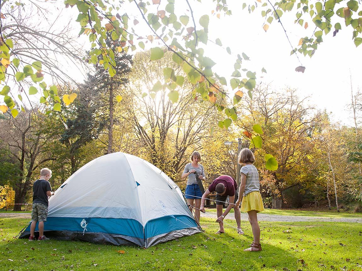 Christmas Camping Australia.Camping Gippsland Victoria Australia