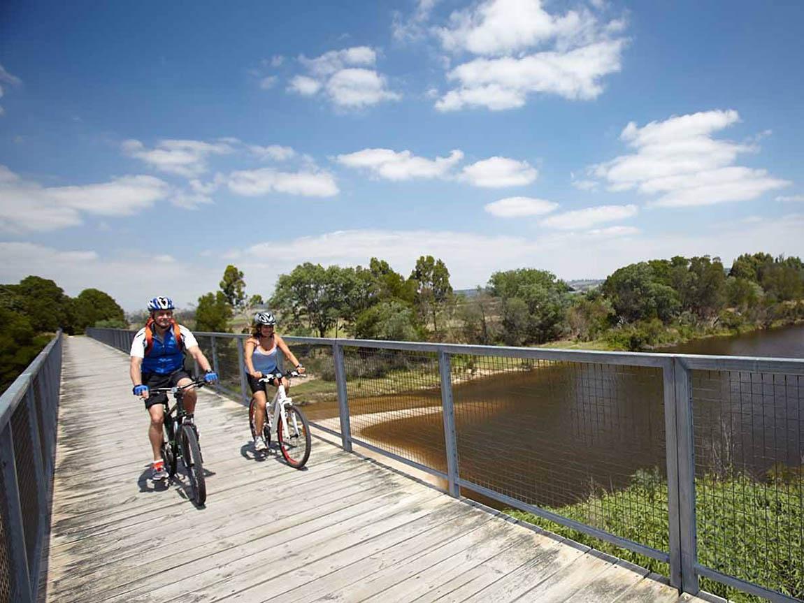 East Gippsland Rail Trail, Gippsland, Victoria, Australia